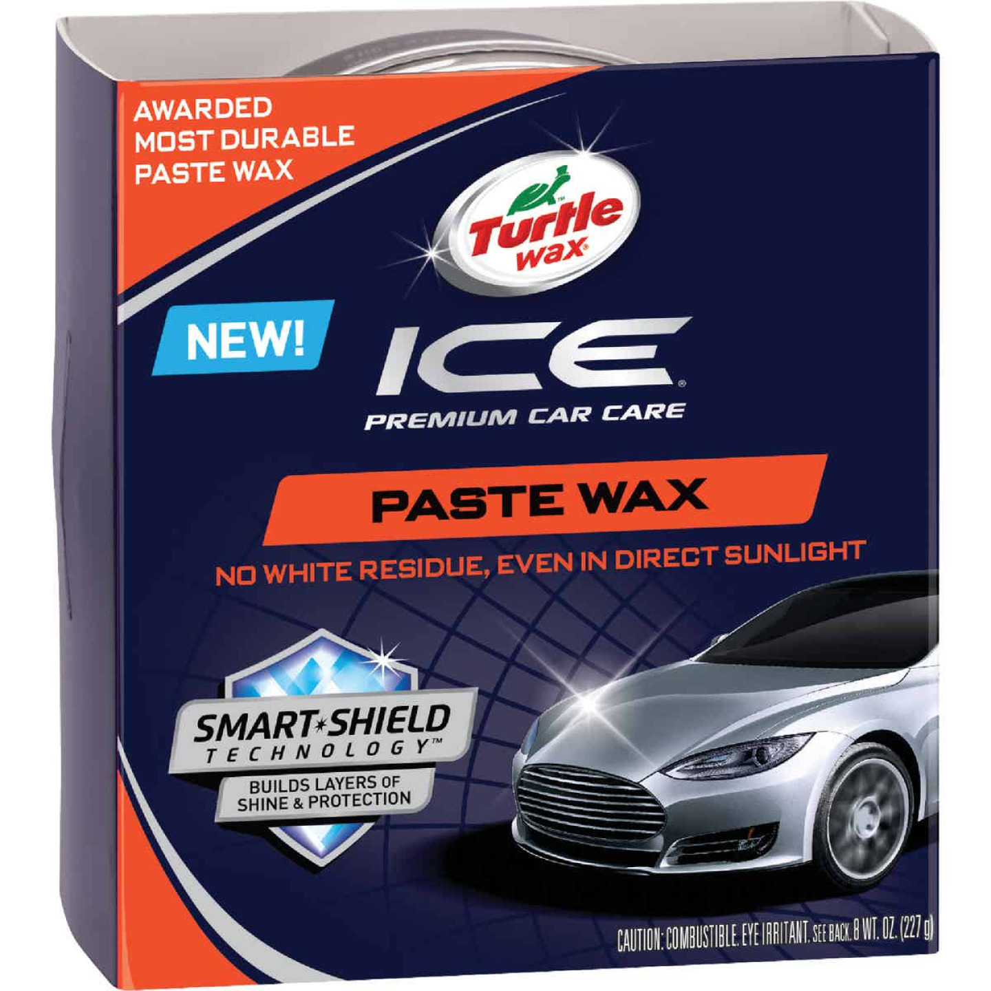Turtle Wax ICE 8 Oz. Paste Car Wax Image 1