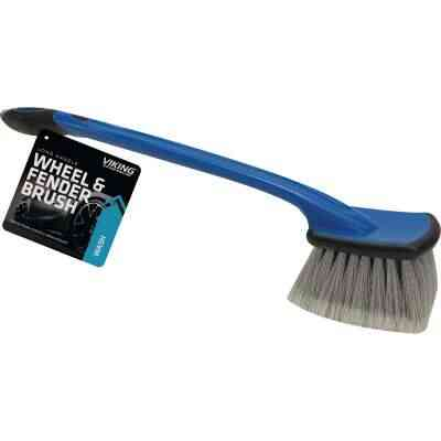 Viking Long Handle Wheel & Bumper Wash Brush