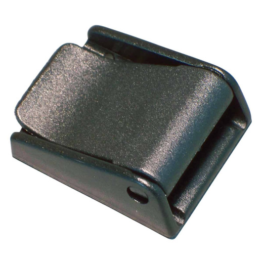 "Turf 1-1/2"" Black Strap Buckle"