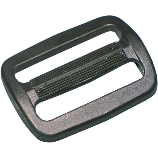 "Turf 1"" Black Strap Buckle"