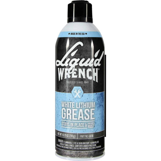 Liquid Wrench 10.25 Oz. Aerosol White Lithium Grease
