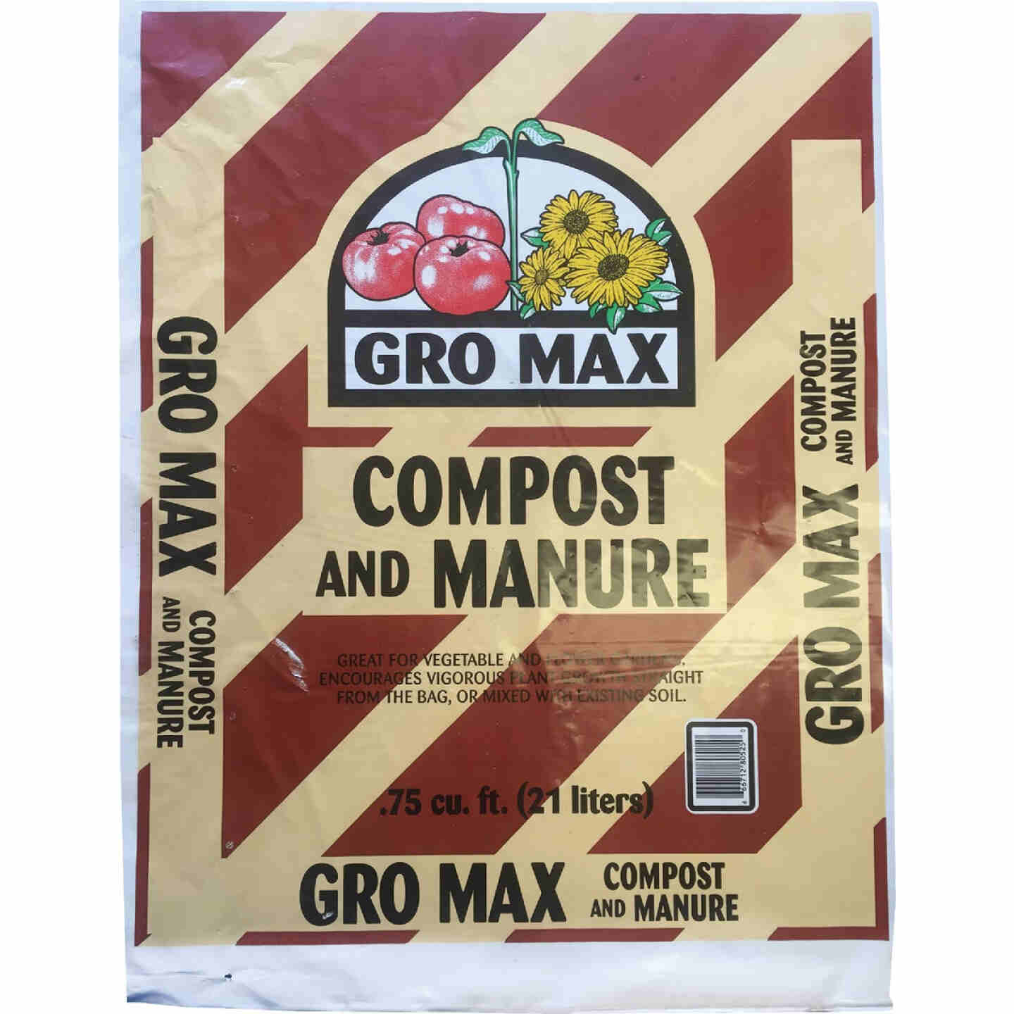 Gro Max 40 Lb. 3/4 Cu. Ft. Composted Cow Manure Image 1