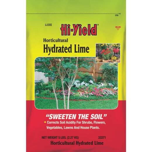 Hi-Yield 5 Lb. 150 Ft. Coverage Plant Bedding Lime