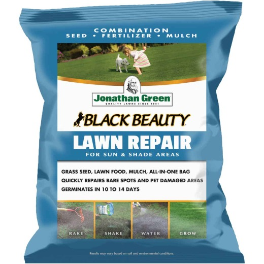 Jonathan Green 4.5 Lb. 100 Sq. Ft. Coverage Black Beauty Ultra Grass Patch & Repair