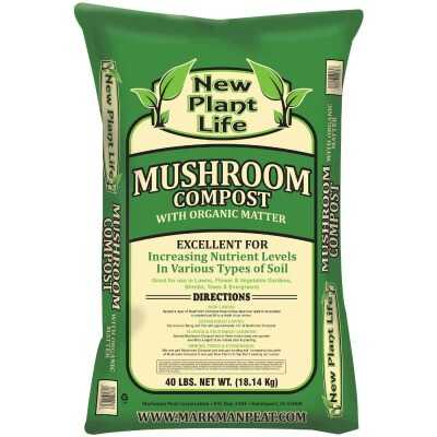 New Plant Life 40 Lb. Mushroom Compost