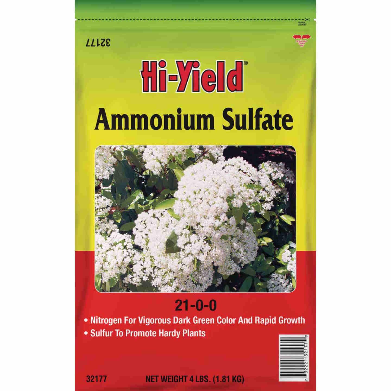 Hi-Yield 4 Lb. 21-0-0 Ammonium Sulfate Image 1