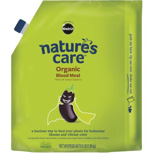 Miracle-Gro Nature's Care 3 Lb. 12-0-0 Blood Meal