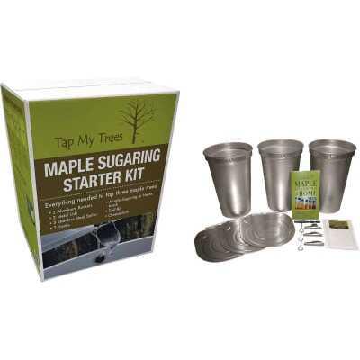 Tap My Trees Maple Sugaring Aluminum & Stainless Steel Starter Kit