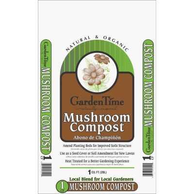 Garden Time 1 Cu. Ft. 30-1/2 Lb. Mushroom Compost