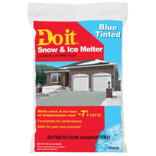 Do it 40 Lb. Blue Ice Melt Pellets