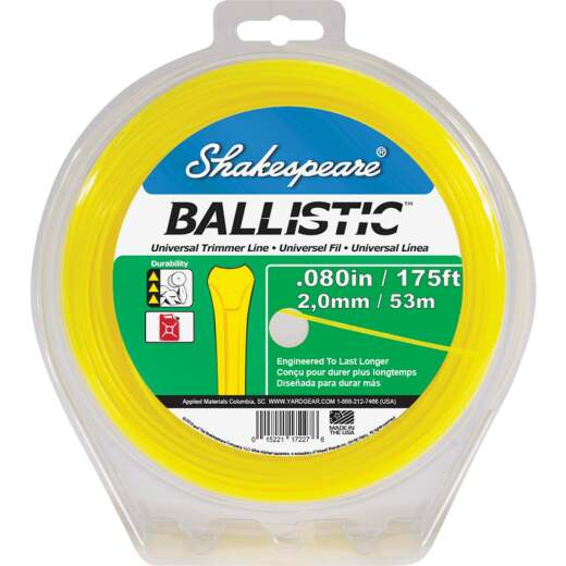 Shakespeare Ballistic 0.080 In.x 210 Ft. Universal Trimmer Line
