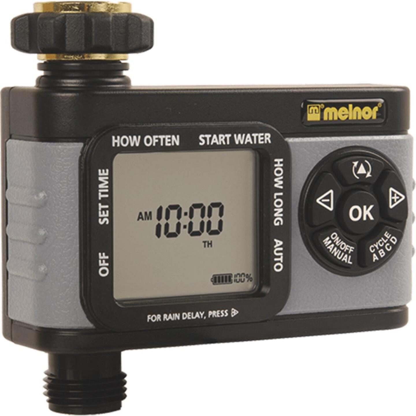 Melnor Hydrologic Digital 1-Zone Water Timer Image 1