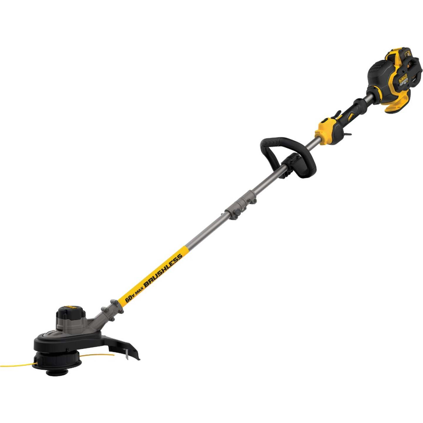DeWalt Flexvolt 60V Max 15 In. Lithium Ion Straight Cordless String Trimmer Image 1