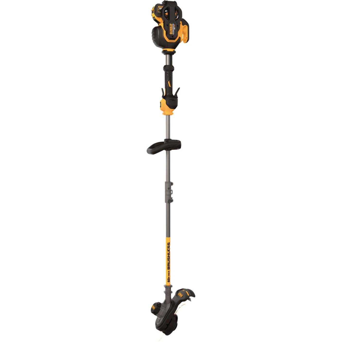 DeWalt Flexvolt 60V Max 15 In. Lithium Ion Straight Cordless String Trimmer Image 3