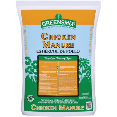Greensmix 36 Lb. 1 Cu. Ft. Chicken Manure