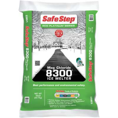 Safe Step 8300 50 Lb. Magnesium Chloride Ice Melt Pellets