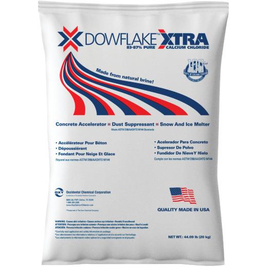 DOWFLAKE Xtra 44 Lb. Calcium Chloride Ice Melt Flakes