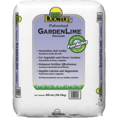 Soil DoctorX 40 Lb. Pulverized Garden Lime