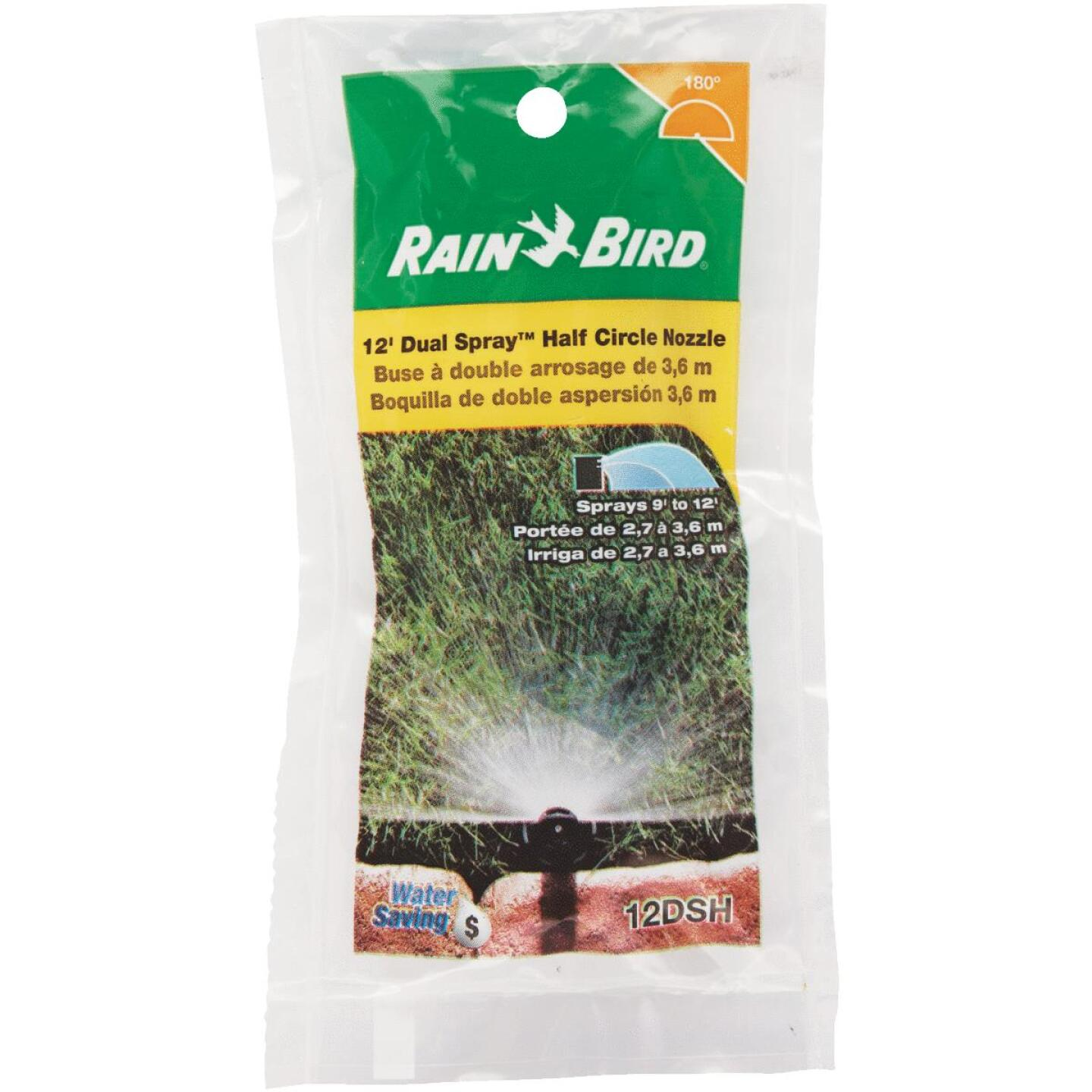 Rain Bird Half Circle Dual Spray Pop-Up Spray Nozzle Image 1