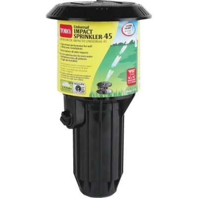 Toro 3 In. 20 Deg. to 340 Deg. Universal Pop-Up Impact Head Sprinkler