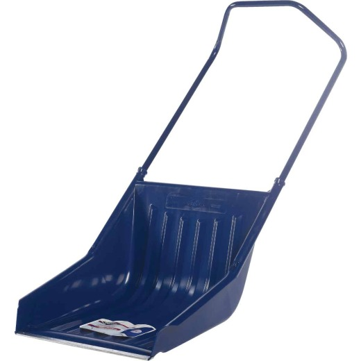 Garant 23.5 In. Poly Sled Snow Shovel with 42.5 In. Steel Handle