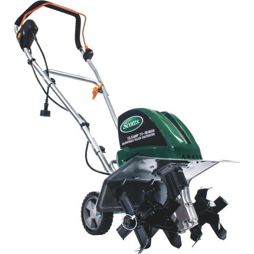 Scotts 16 In. 13.5 Amp Corded Electric Tiller/Cultivator