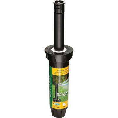 Rain Bird 4 In. Quarter Circle Dual Spray Pop-Up Head with Pressure Regulator