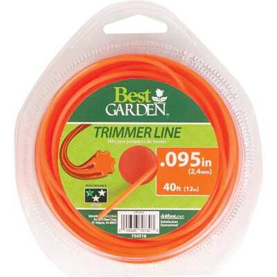 Best Garden 0.095 In. x 40 Ft. Round Trimmer Line