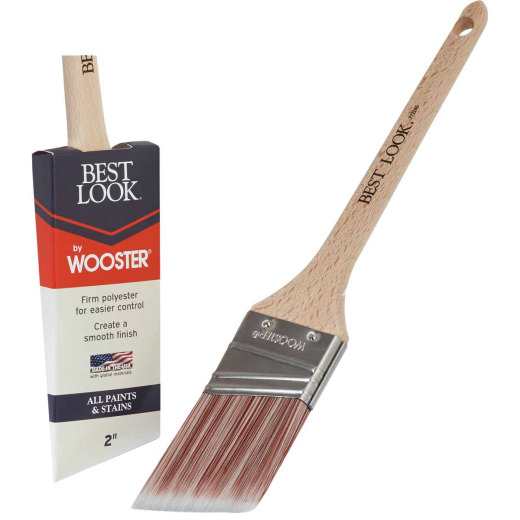 Best Look By Wooster 2 In. Thin Angle Sash Paint Brush